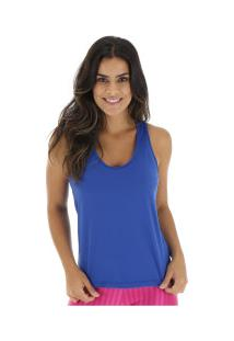 Camiseta Regata Oxer Ginasta - Feminina - Azul
