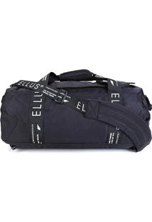 Bolsa Ellus Weekend Bag Tradition - Masculino-Preto