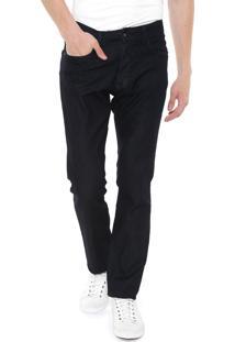 Calça Jeans Calvin Klein Reta Lisa Azul-Marinho