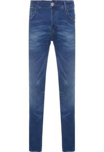 Calça Masculina Skinny Weimar - Azul