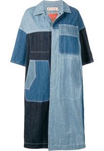 Marni Jaqueta Longa - Azul