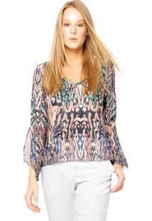 Blusa Endless Brisa Multicolorida