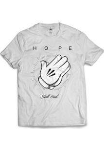 Camiseta Skill Head Hope Branco
