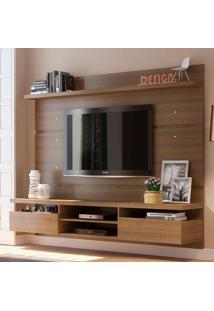 Painel Para Tv Até 50 Polegadas Live Rustic 220 Cm