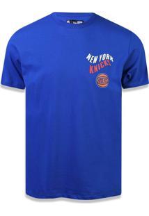 Camiseta New Era Regular New York Knicks Royal