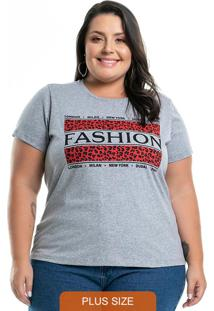 T-Shirt New York Cinza