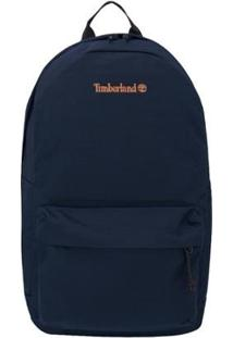 Mochila Timberland Backpack Embroidery Black - Unissex-Marinho