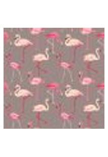 Papel De Parede Adesivo - Flamingos - 056Pps