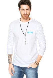 Camiseta Redley Skate Branca