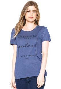 Camiseta Forum Unless Azul