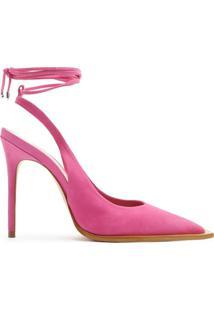 Scarpin Lace-Up 944 Pink | Schutz