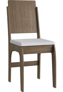 Cadeira Mdf 916 Par Ameixa Negra Mã³Veis Canã§Ã£O - Marrom - Dafiti