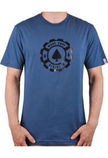 Camiseta Mcd Regular - Masculino-Azul