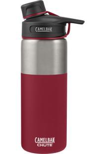 Garrafa Térmica Camelbak 600Ml Chute Vacuum Insulated Stainless Vermelho