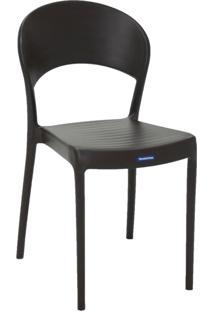 Cadeira Tramontina Sissi 92046/109 Marrom Se