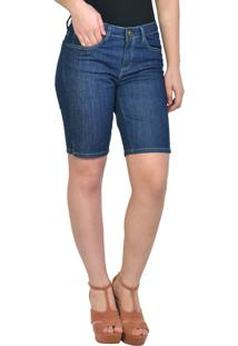 Bermuda Tradicional Jeans Escura Yck'S