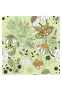 Papel De Parede Autocolante Rolo 0,58 X 3M - Floral 210128
