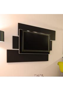 Painel Para Tv 1.3 Mobile Preto