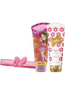Combo Sophie Cabelos: Shampoo + Condicionador + Faixa De Cabelo