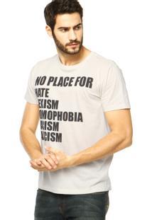Camiseta Forum Reta Off White