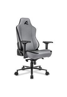 Cadeira Gamer Sharkoon Skiller Sgs40, 150Kg, Braço 4D, Preto/Cinza