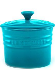 Porta Condimentos De Cerâmica Le Creuset Azul Caribe 700 Ml - 12882