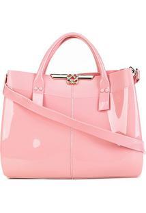 Bolsa Petite Jolie Worky Bag Feminina - Feminino-Rosê