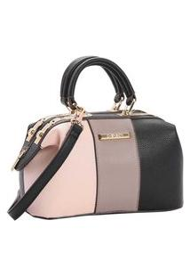 Bolsa Chenson Bau Feminina Transversal Mini Bag 82931 Cinza