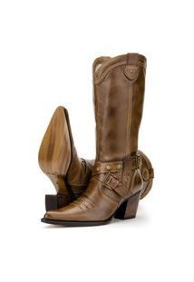 Bota Capelli Boots Country De Couro Marrom