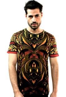 Camiseta Klauk Swag Dourado