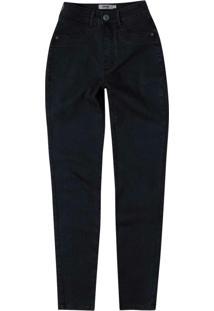 Calça Preta Jeans Super Skinny