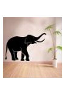 Adesivo De Parede Animais Elefante - Eg 58X86Cm
