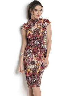 130111b5a2 Vestido Moda Pop Tubinho feminino