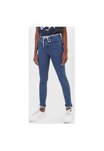 Calça Jeans Triton Skinny Michele Azul