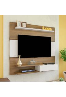 Painel Artely Monza Tv Até 50 Pol 1 Porta Pinho/Off White