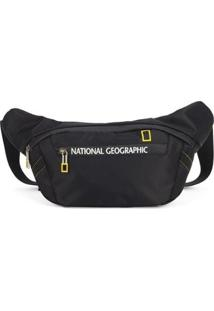 Pochete Porta Dólar National Geographic - Unissex-Preto