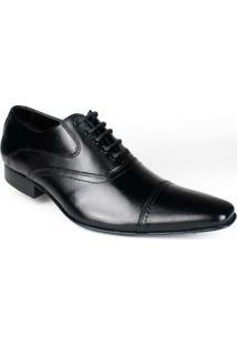Sapato Bigioni Oxford Social Masculino Cadarço Sola Couro - Masculino