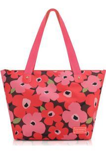 Bolsa Jacki Design Poliéster - Feminino-Vermelho