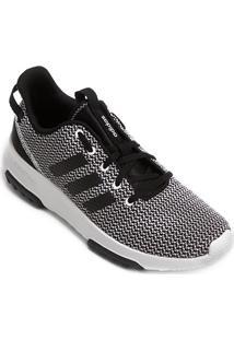 Tênis Adidas Cf Racer Tr Masculino - Masculino-Preto+Branco