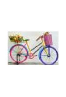 Painel Adesivo De Parede - Bicicleta - 253Pn-G