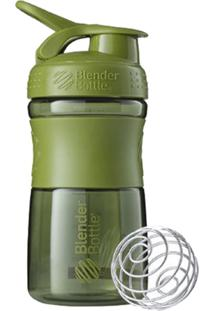 Coqueteleira Verde Sport Mixer Blender Bottle