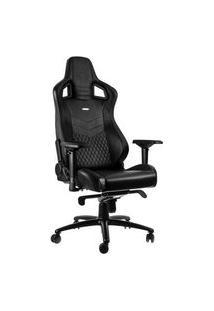 Cadeira Gamer Noblechairs Epic Leather, Black - Nbl-Rl-Bla-001