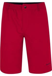 Bermuda Bolso-Faca Vermelha