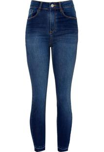 Calca Paula Capri Black (Jeans Medio, 40)