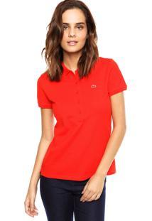 R  184,99. Dafiti Camisa Polo Lacoste Slim Vermelha a9b1317561