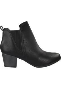 Bota Modare Ankle Boot Feminina Preto - 34