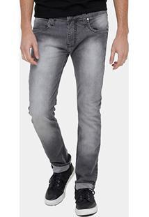 Calça Jeans Colcci Alex Indigo Masculina - Masculino-Preto