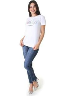 Calça Jeans Skinny Opera Rock Feminina - Feminino-Azul