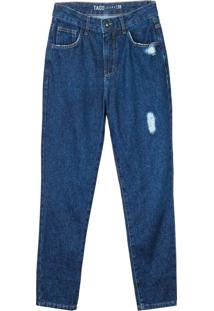 Calça Jeans Mom Stone