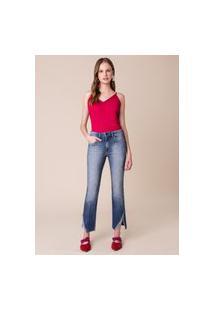 Calça Jeans Pedraria